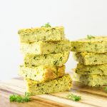 Savoury Vegan Zucchini Slice Recipe