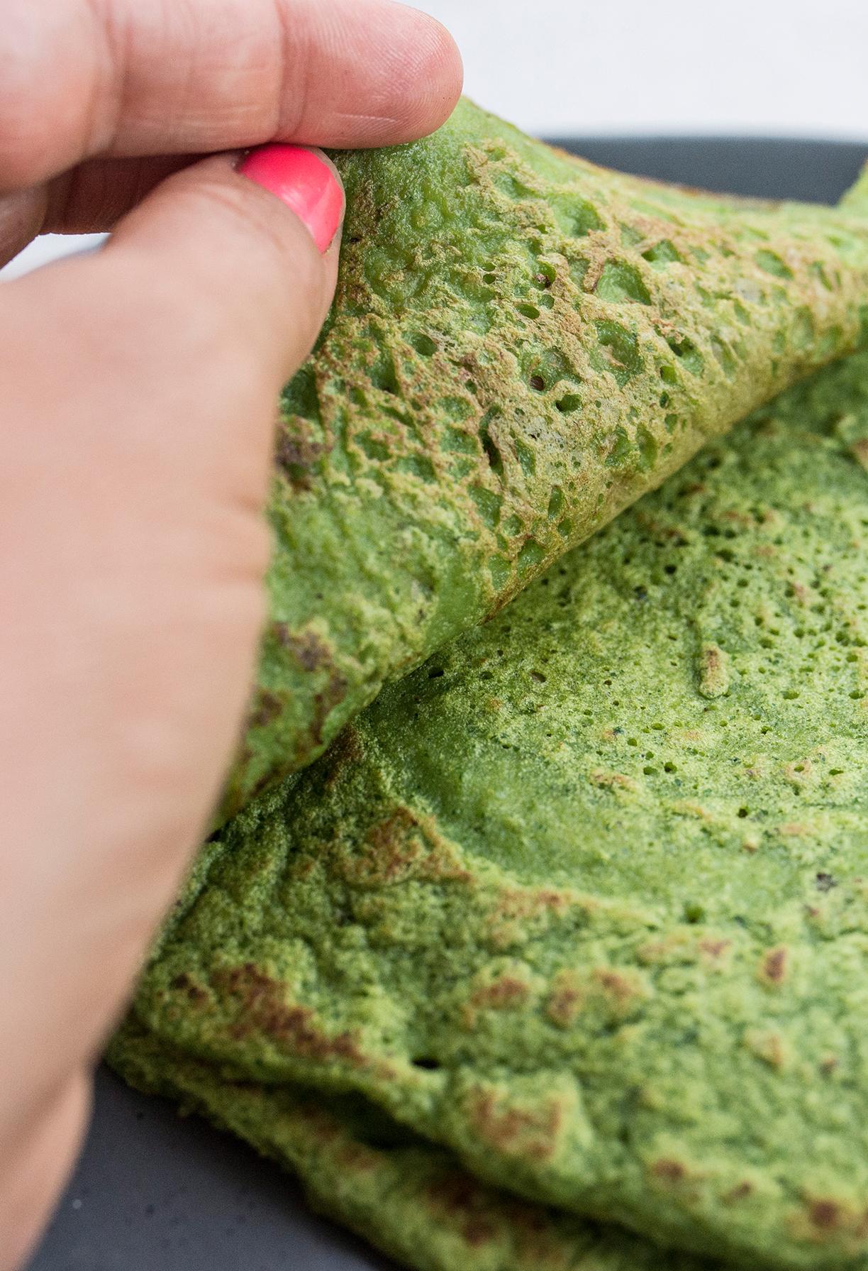 Lentil Kale Flatbread