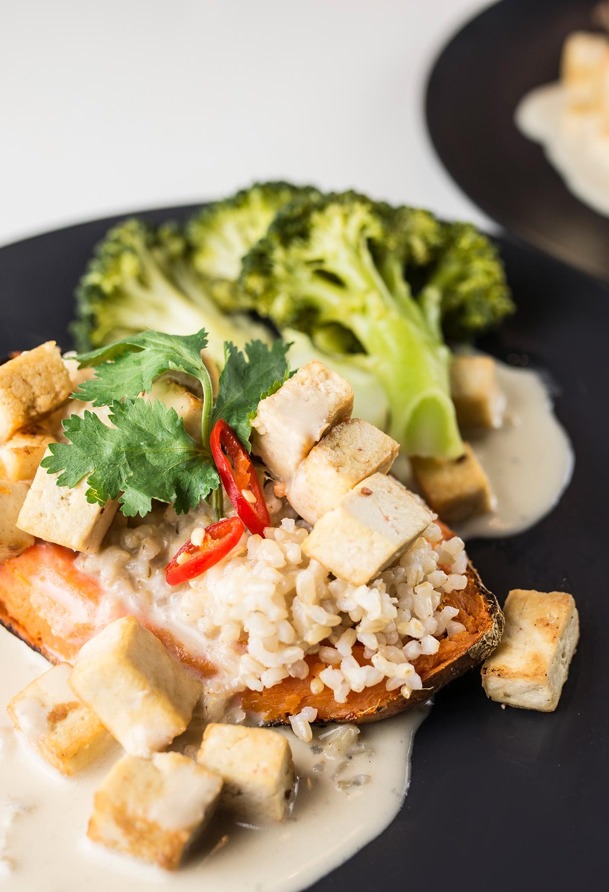 Creamy Thai Tofu