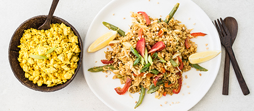 Vegetarian Nasi Goreng Recipe