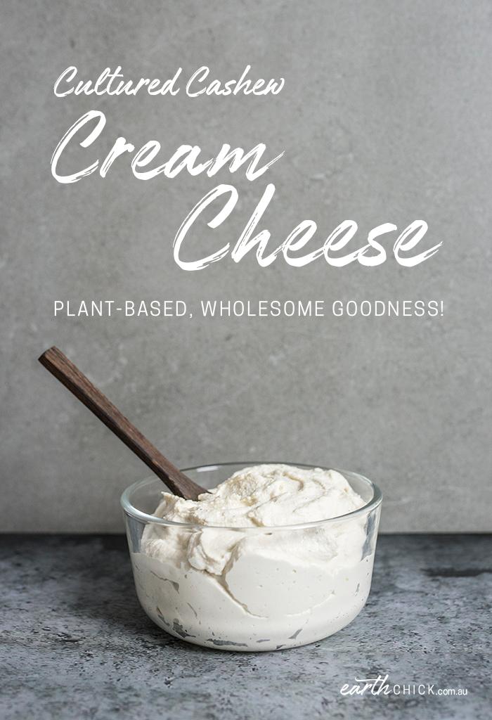 Cultured Cashew Cream Cheese Recipe
