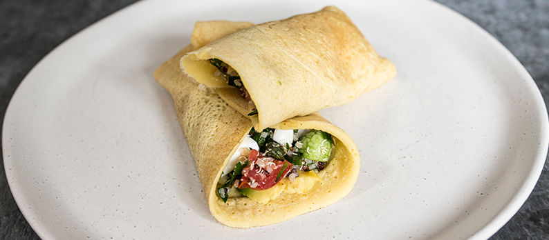 Mung Bean Wraps (Gluten-free)