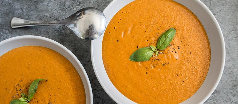 Tomato basil soup creamy
