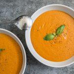 Vegan Creamy Tomato Basil Soup
