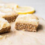 Vegan Lemon Coconut Slice Recipe